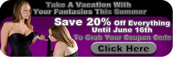 BDSM Toy Shop Discount Ad